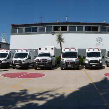 Ambulancias ISSSTE