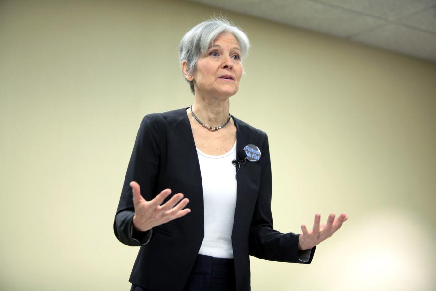 Stein hablando en un evento de campaña en Mesa, Arizona   Foto: Gage Skidmore / Wikimedia